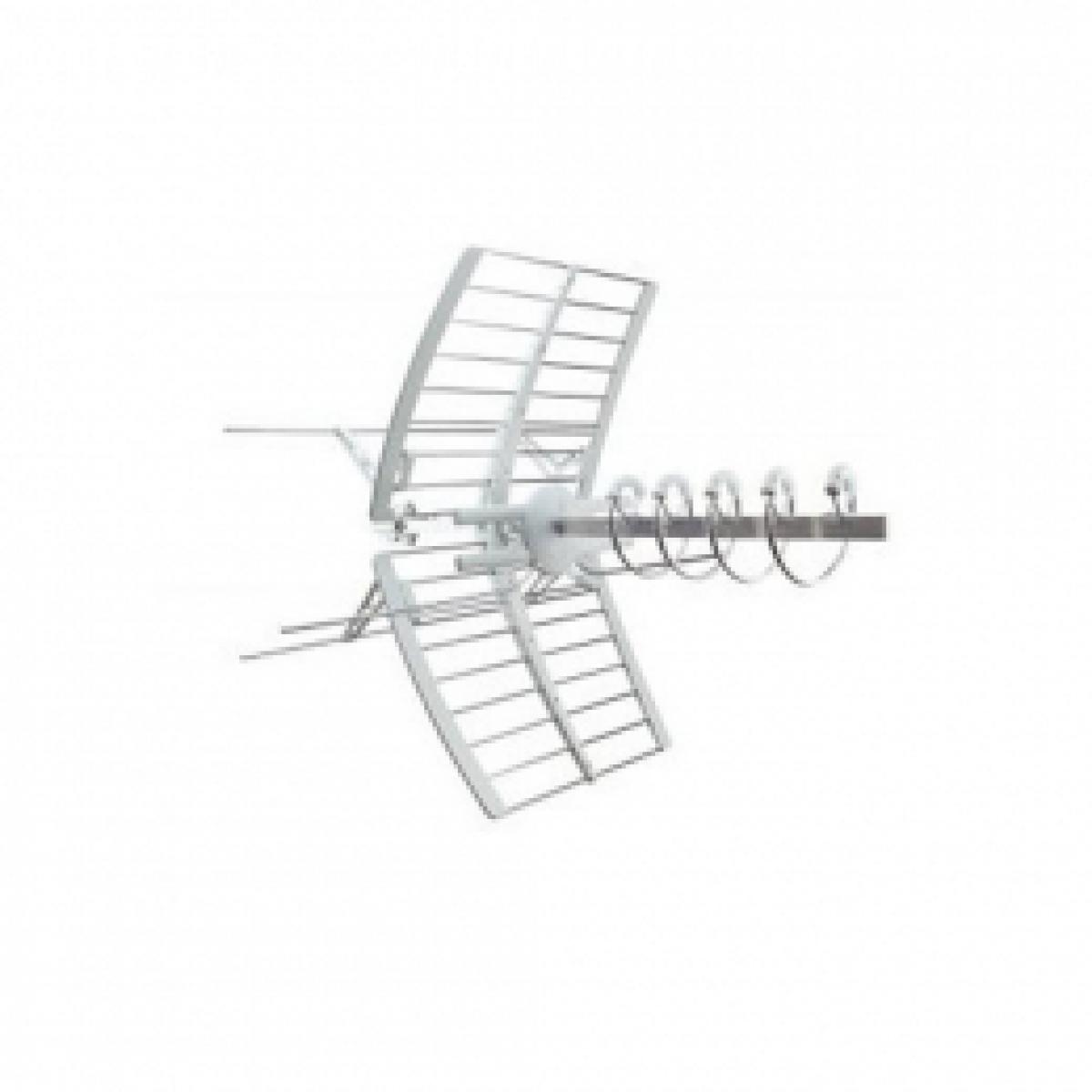 Antenna elicoidale elika combo di banda iii e uhf lte 213232 fracarro