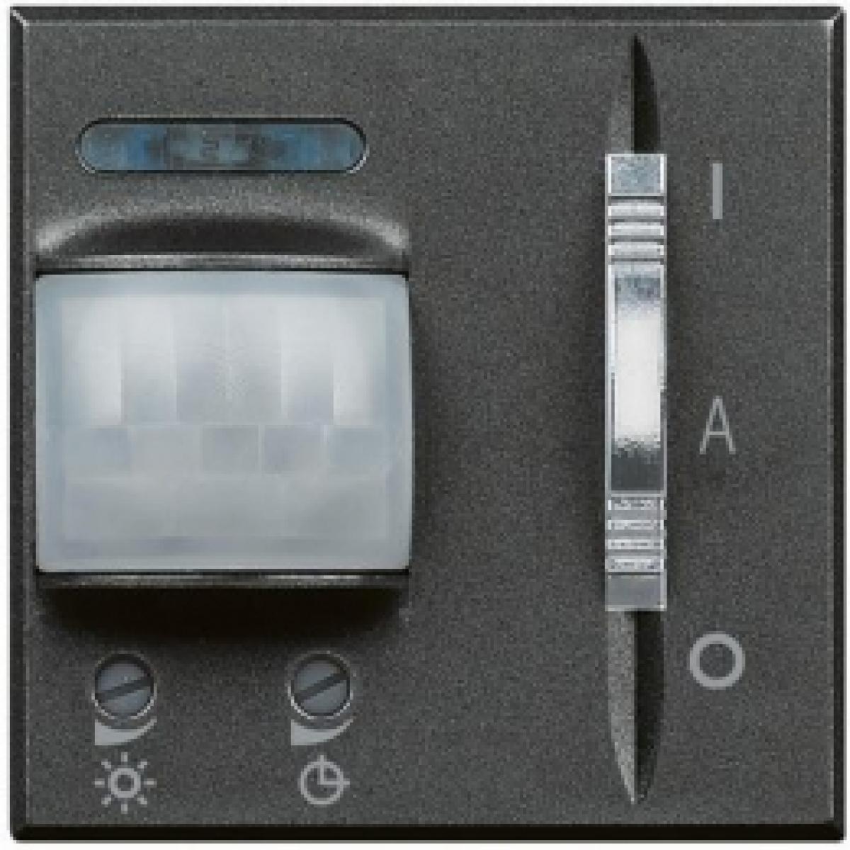 Interruttore infrarosso passivo bticino axolute 500w scuro HS4432