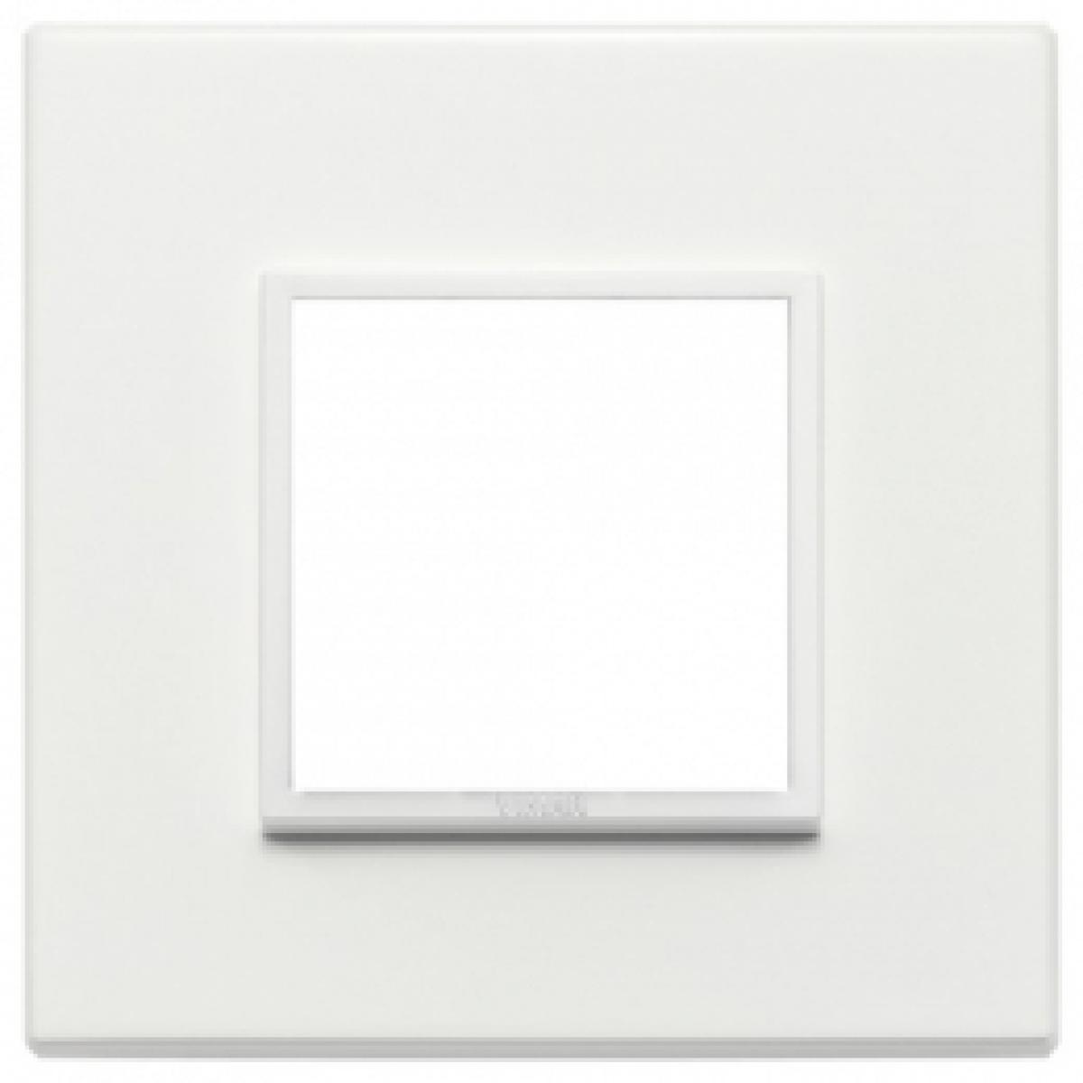 Eikon evo vimar  placca 2 posti colore bianco totale 21642.70