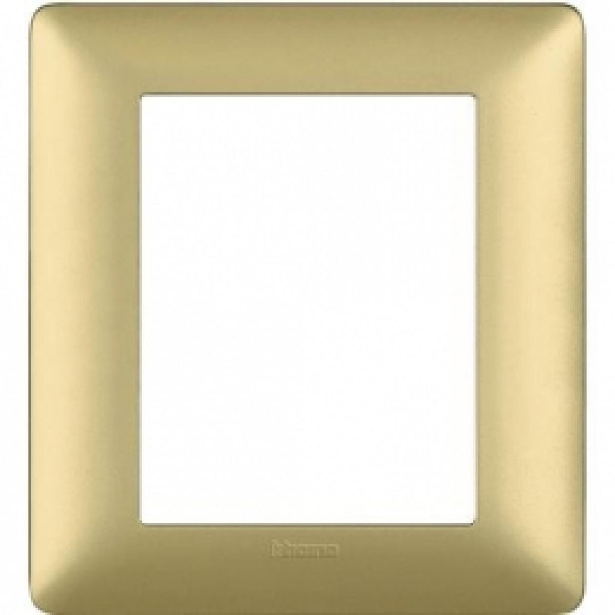 Placca 3+3 Gold  Bticino Matix AM4826MGL