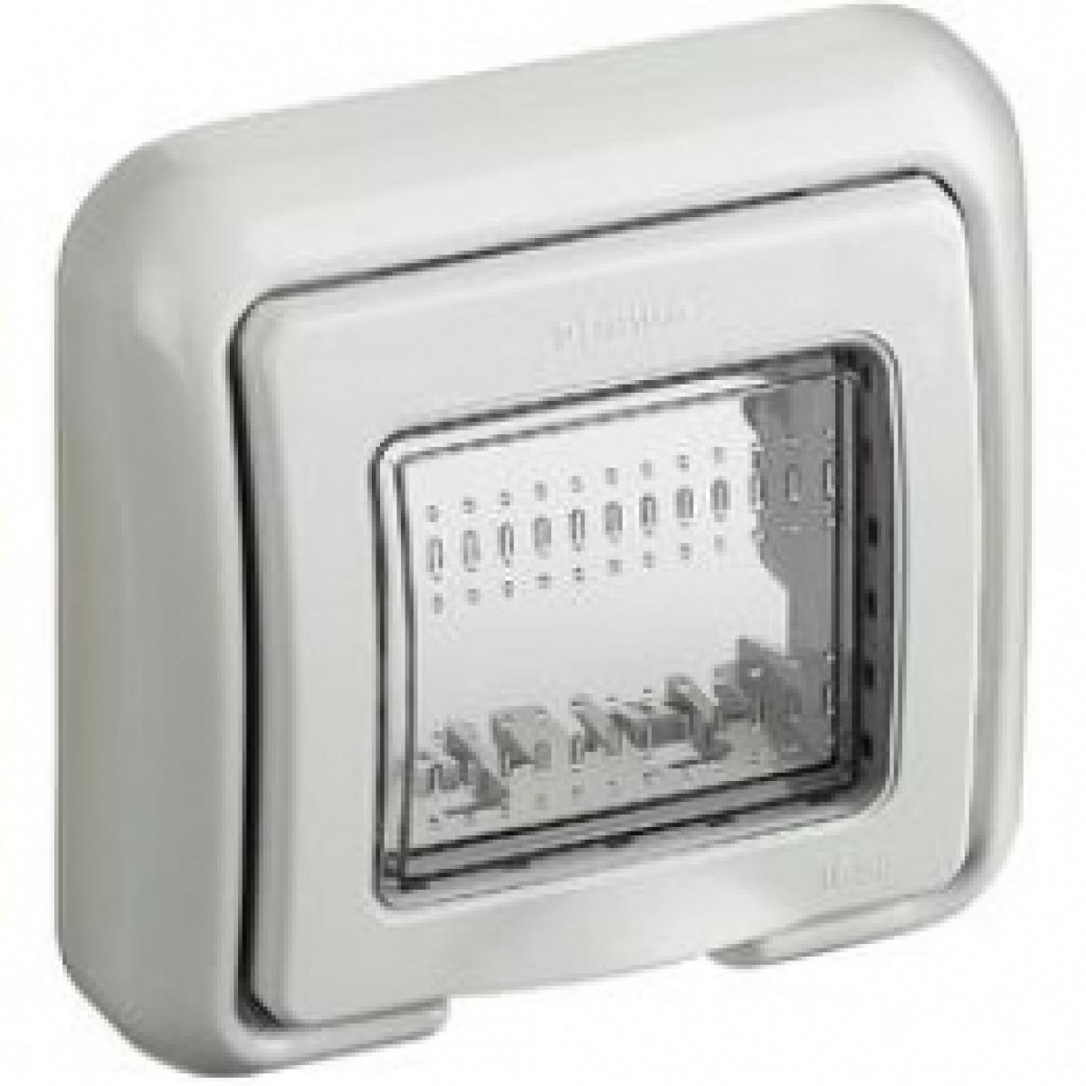 Matix bticino coperchio idrobox ip55 2 posti colore bianco 25602B