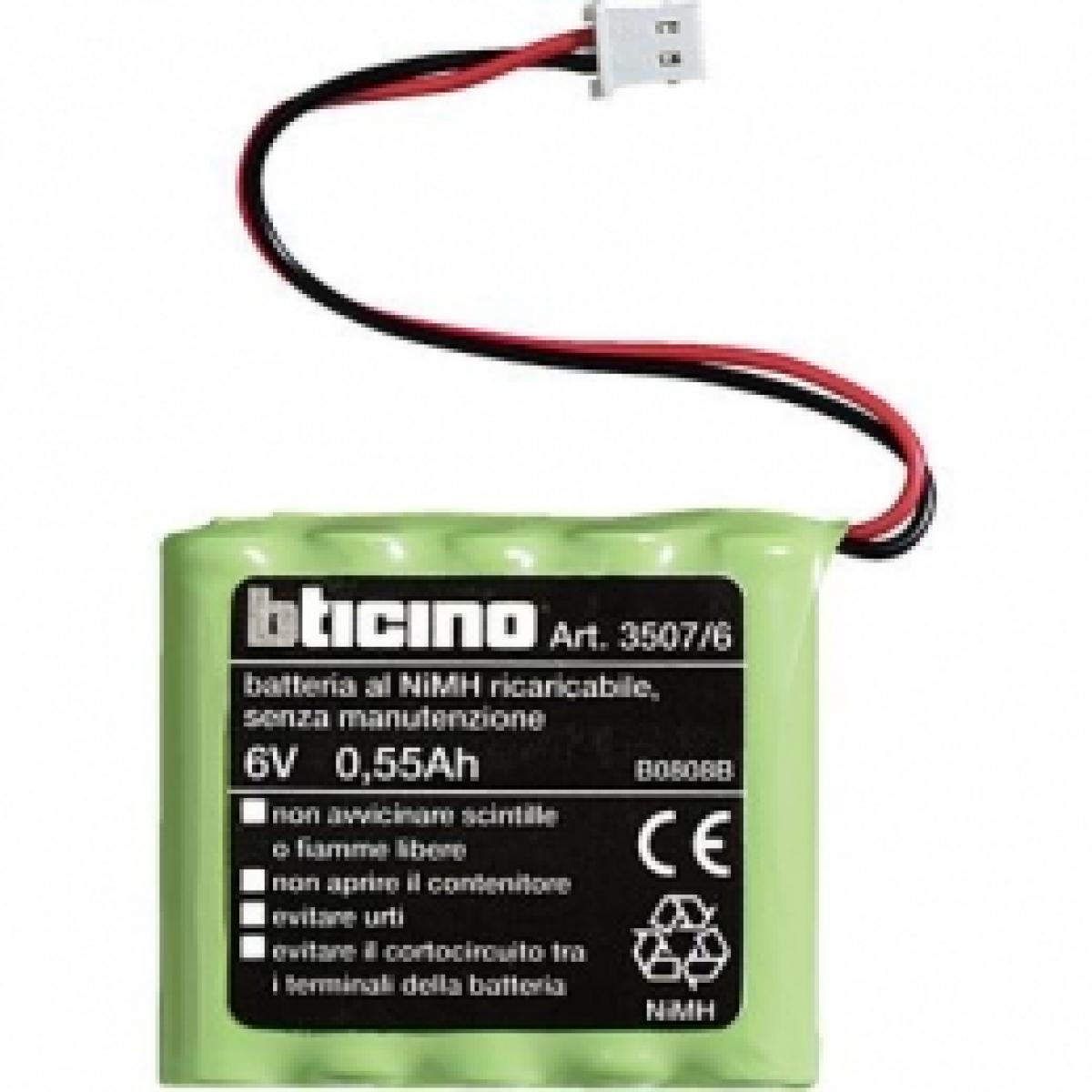Batteria per sirena interna axolute bticino scura 3507-6