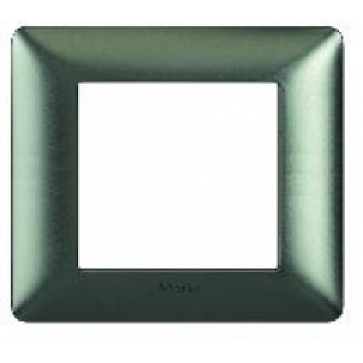 Matix bticino placca 3+3 poli colore nichel nero AM4826GNN