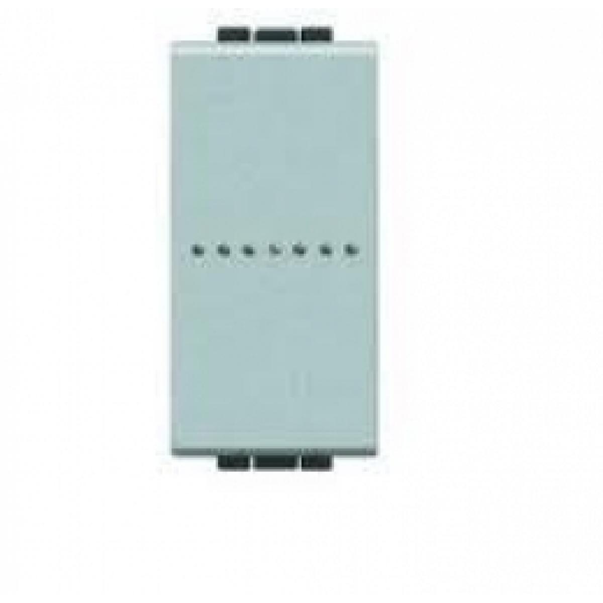 Deviatore bticino light tech 1p 16a 1 modulo NT4053A