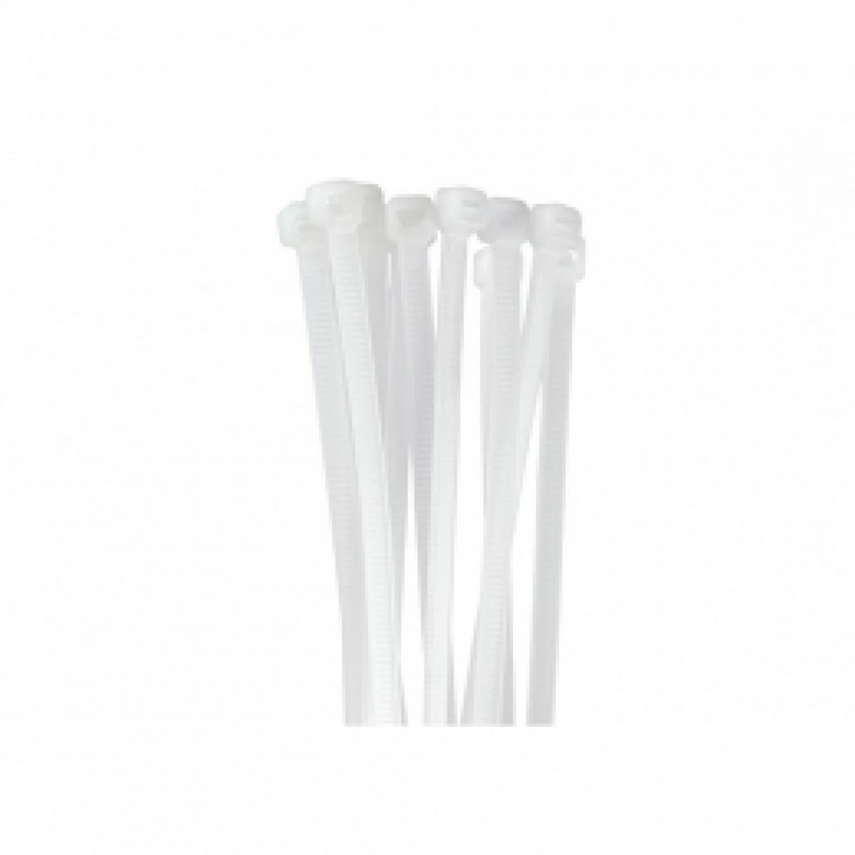 Fascette nylon etelec bianca fb36045