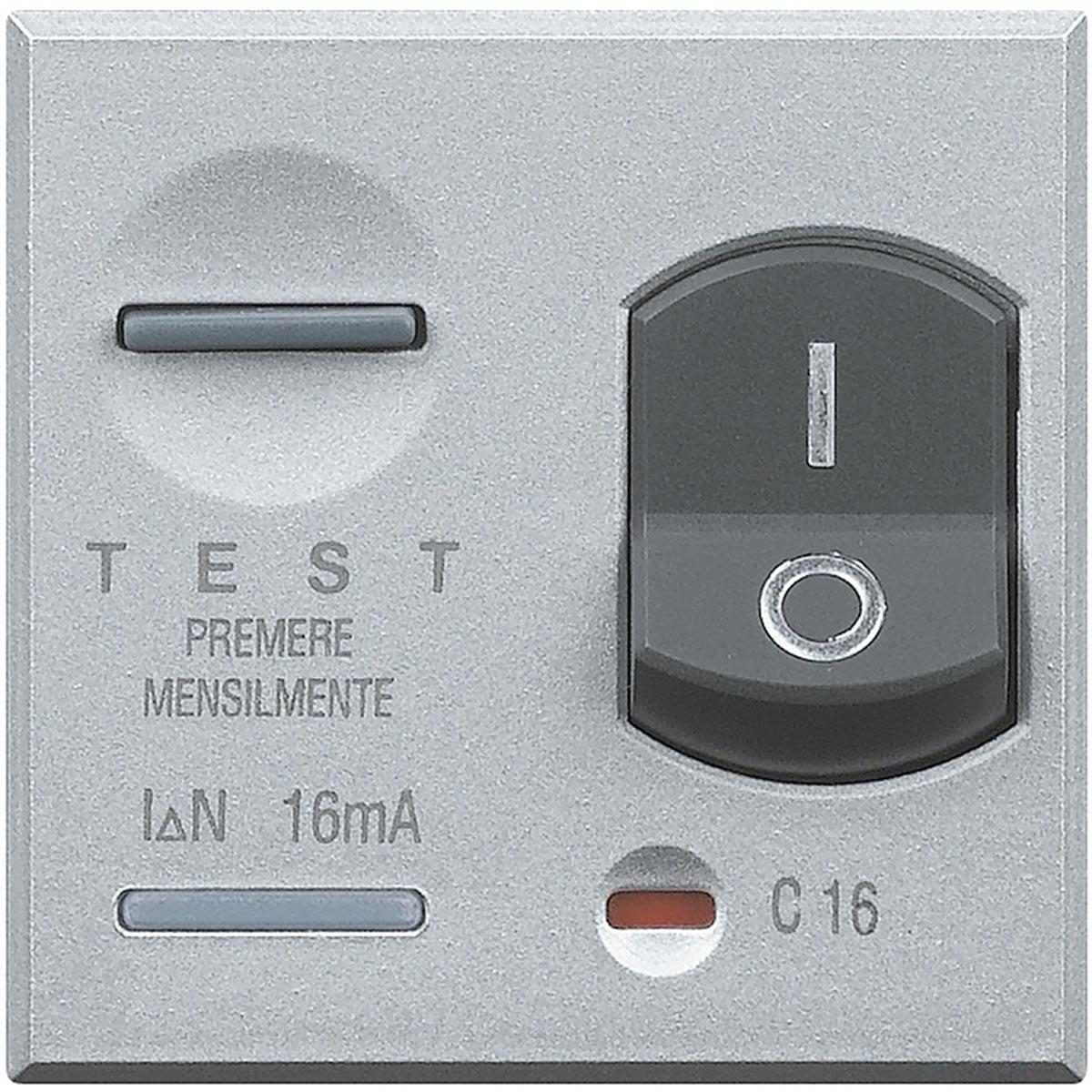 Magnetotermico Differenziale Bticino Axolute Chiara HC4305-16