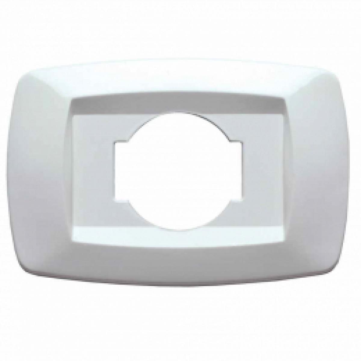 Placca bianco per presa unel schuko MD10NU master modì