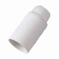 Portalampada E14 colore bianco filettato 00511 master