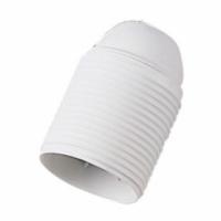 Portalampada E27 colore bianco filettato 00513 master