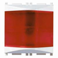 Spia prismatica rosso bianco 14387.R vimar plana