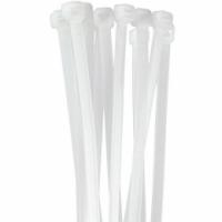 Fb54075 fascette di fissaggio in nylon colore bianco