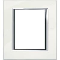 Placca 3+3 Bticino Axolute Bianco LImoges HA4826BG