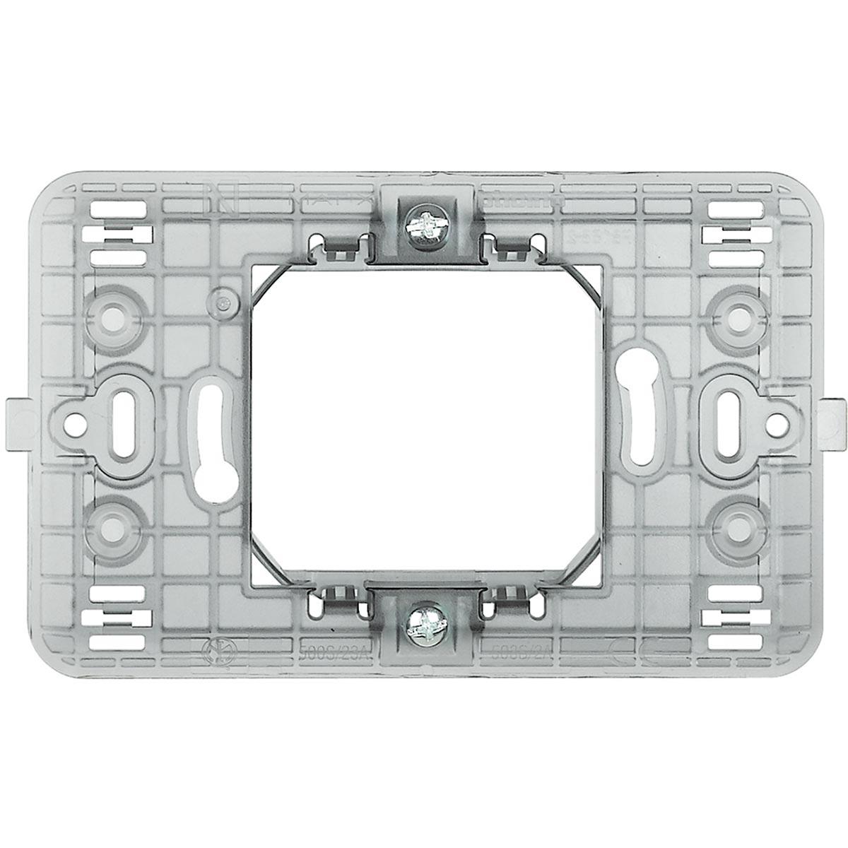 Supporto 2 Moduli Centrali Bticino Matix 500sS23A