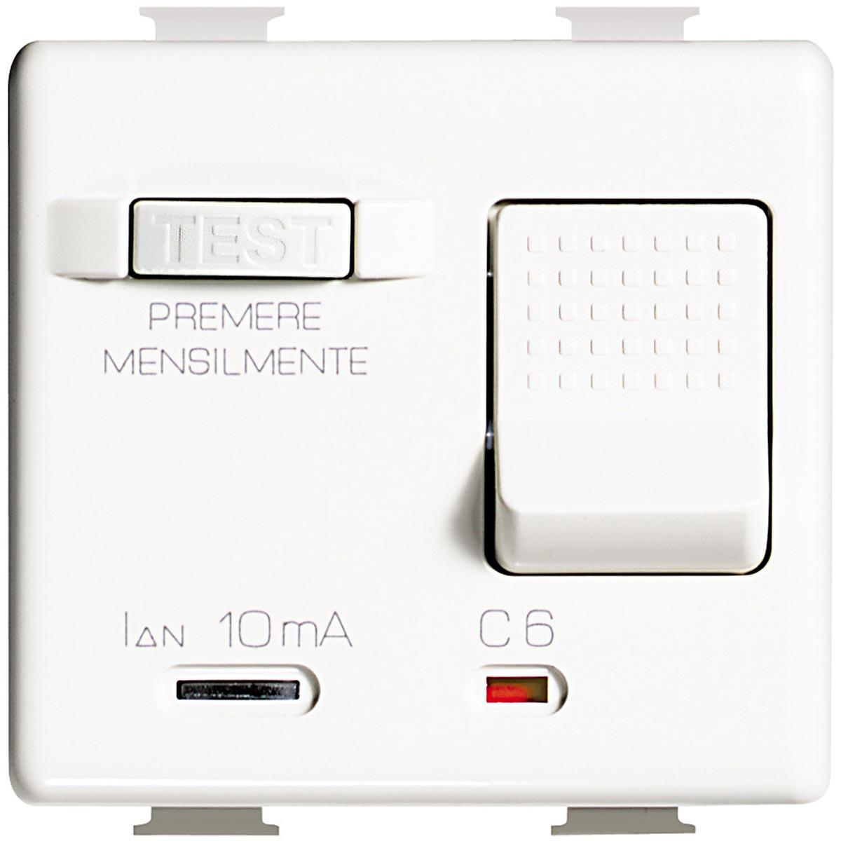 Magnetotermico Differenziale 10 ampere Bticino Matix AM5250S