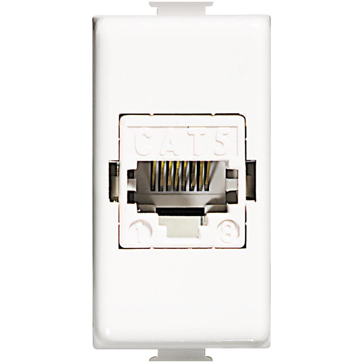 Connettore Modulare RJ45 Categoria 5E UTP Bticino Matix AM5974AT5