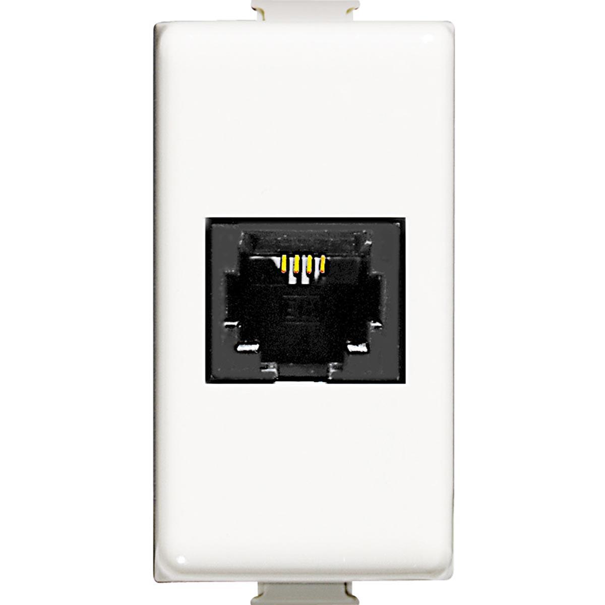 Connettore telefonico RJ11 Bticino Matix AM5982