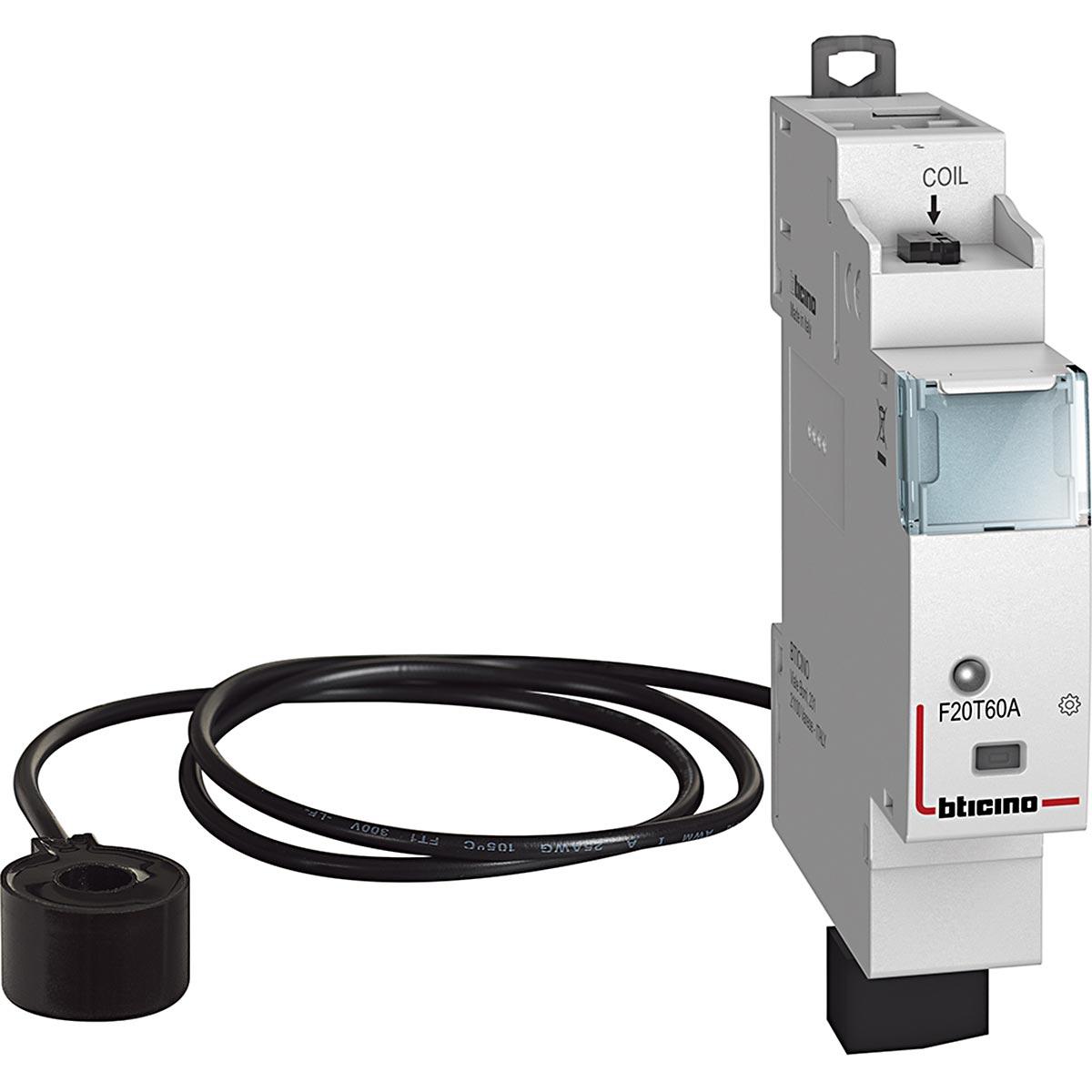 Misuratore consumo energia connesso Bticino Living F20T60A din