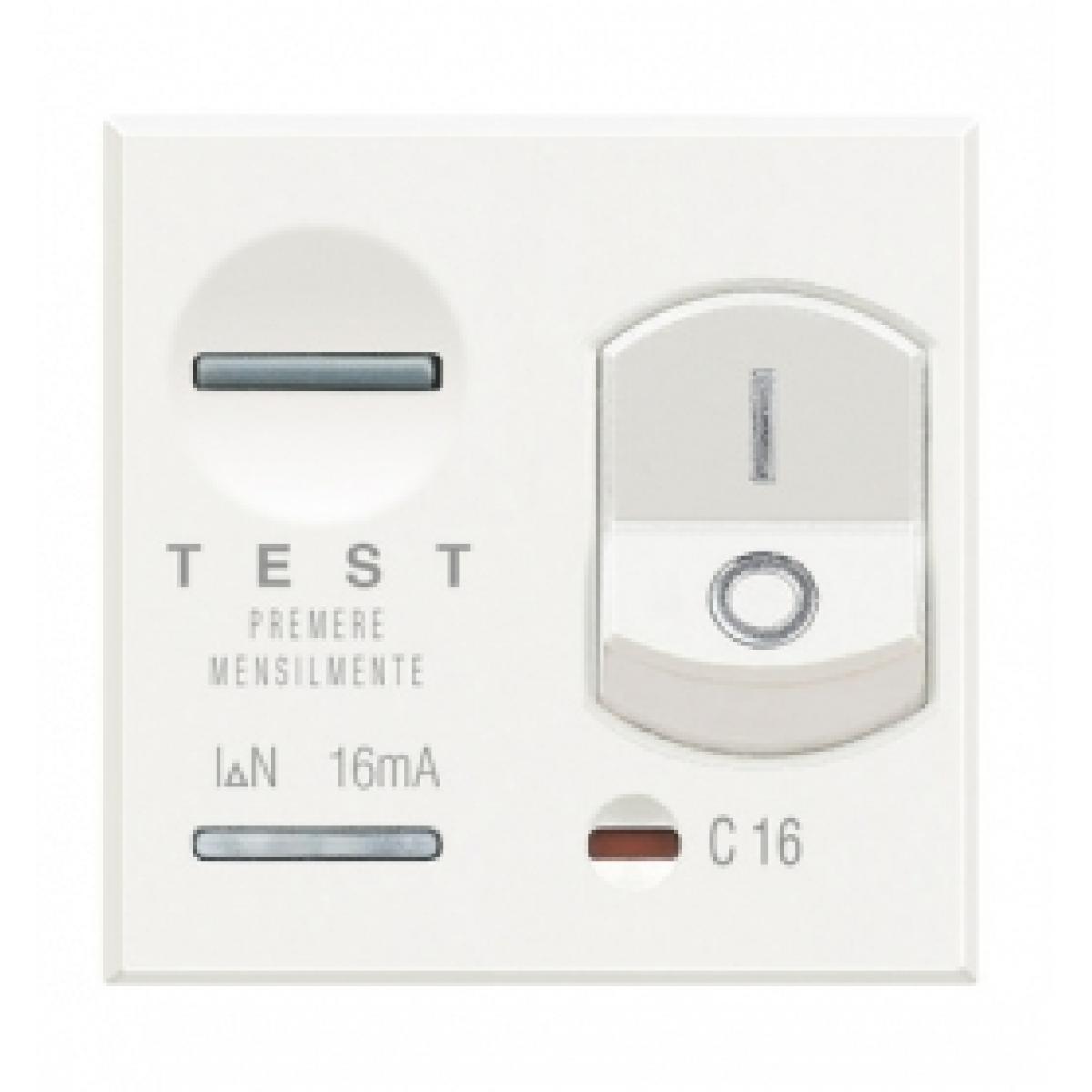 Magnetotermico Differenziale Bticino Axolute Bianca HD4305A10