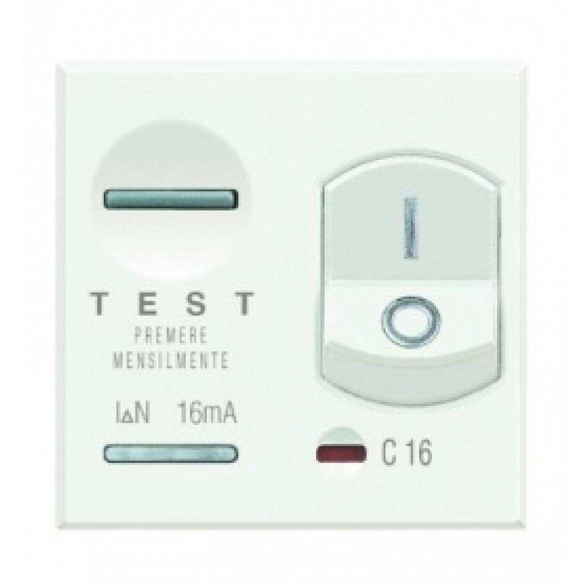 Magnetotermico Differenziale Bticino Axolute Bianca HD4305A6