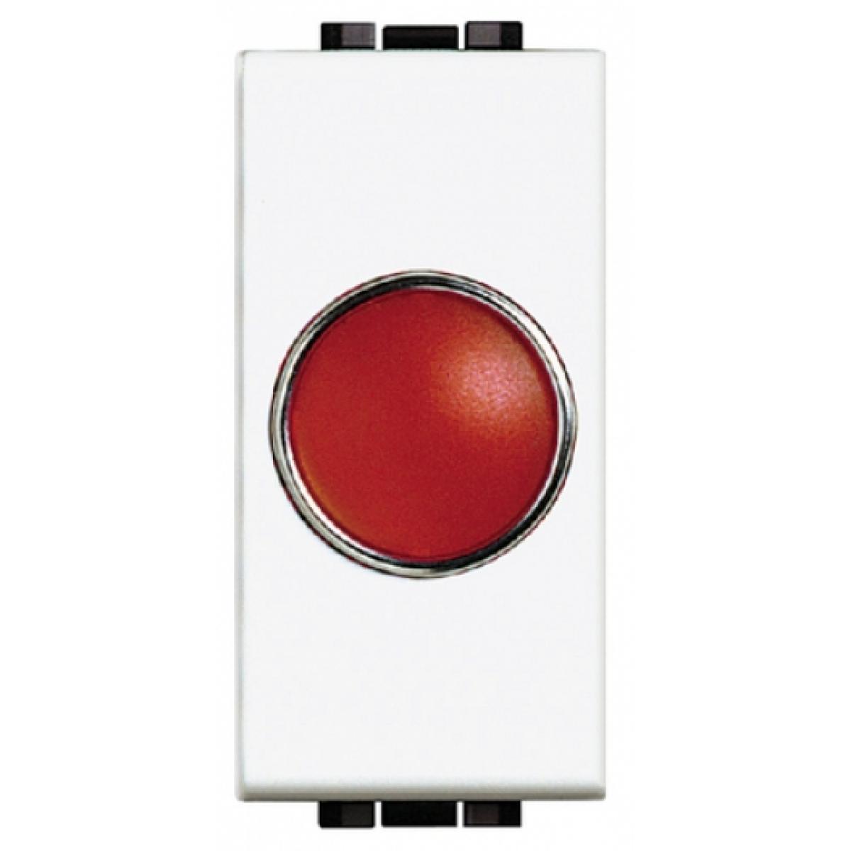 Portalampada Spia Rossa Bticino Living Light N4371R