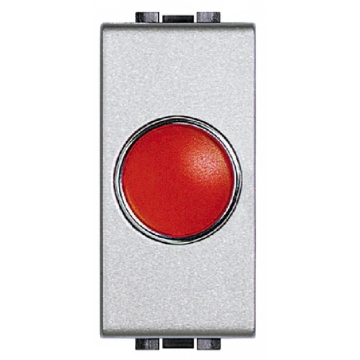 Portalampada Spia Rossa Bticino Living Light Tech NT4371R