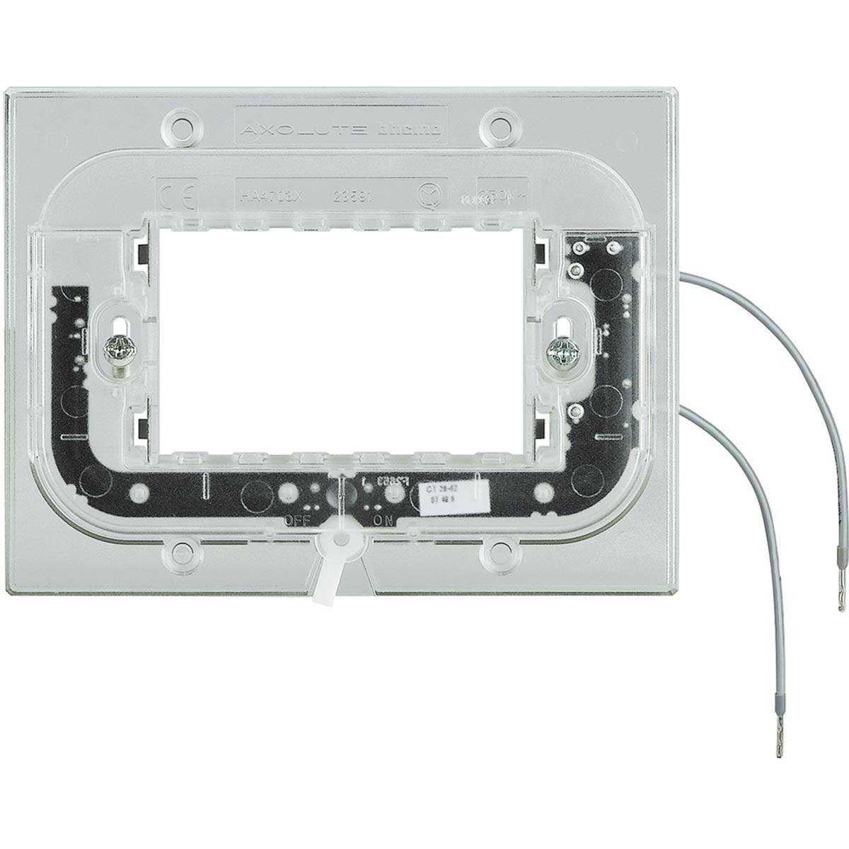 Bticino Axolute Supporto Luminoso 3 Moduli HA4703x