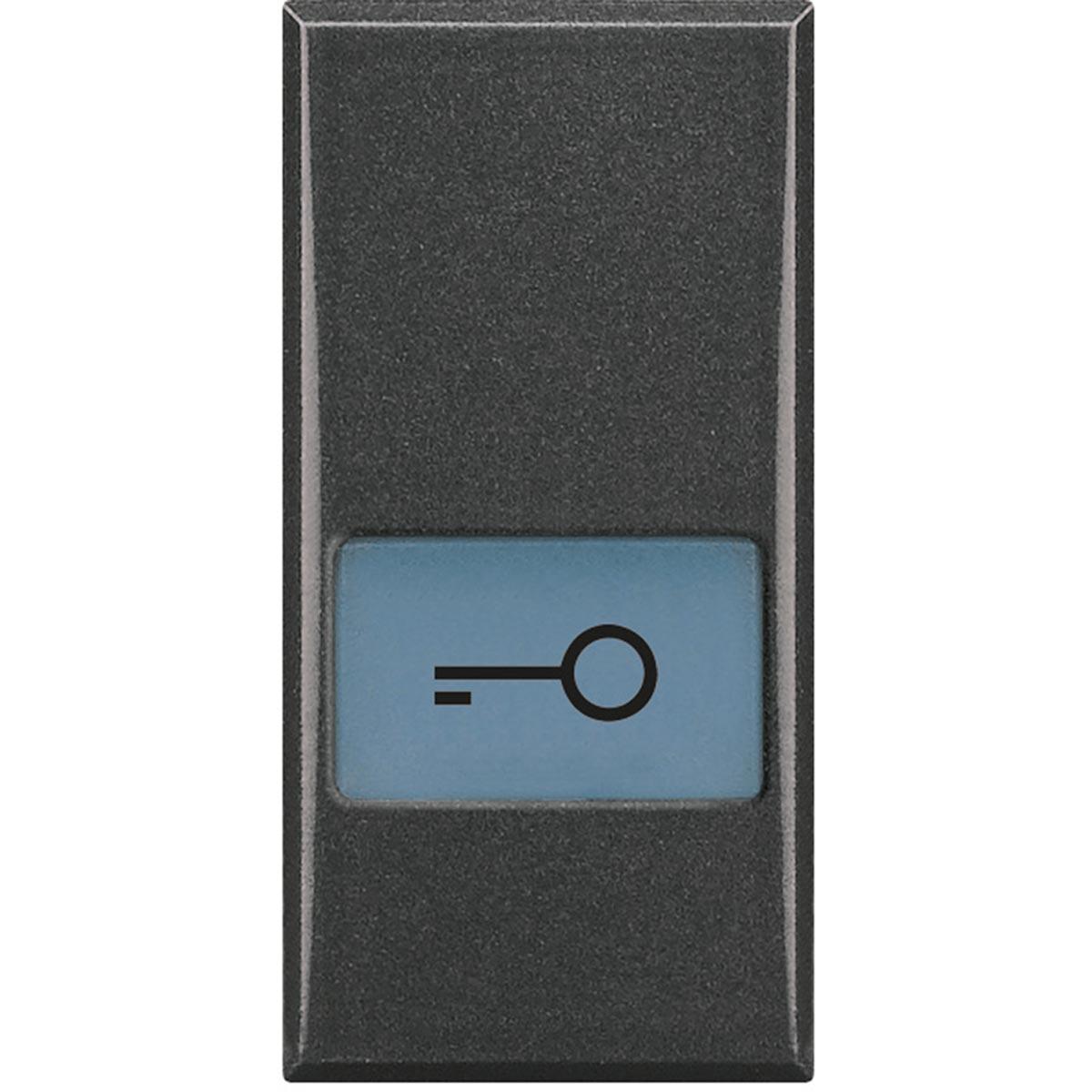 HS4921LF copritasto serigrafato bticino axolute chiave