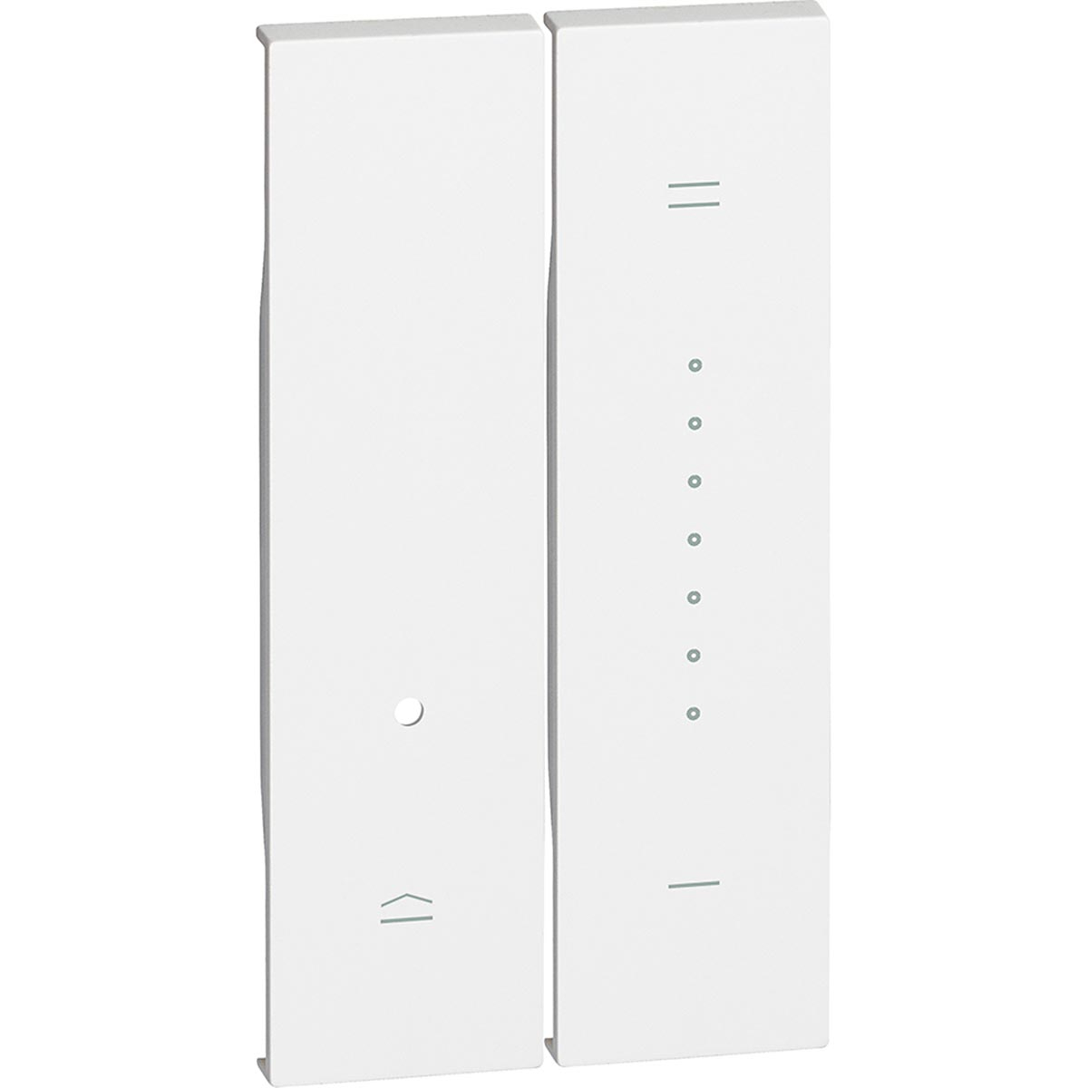 Cover Per Dimmer Bticino Living Now Bianco KW19
