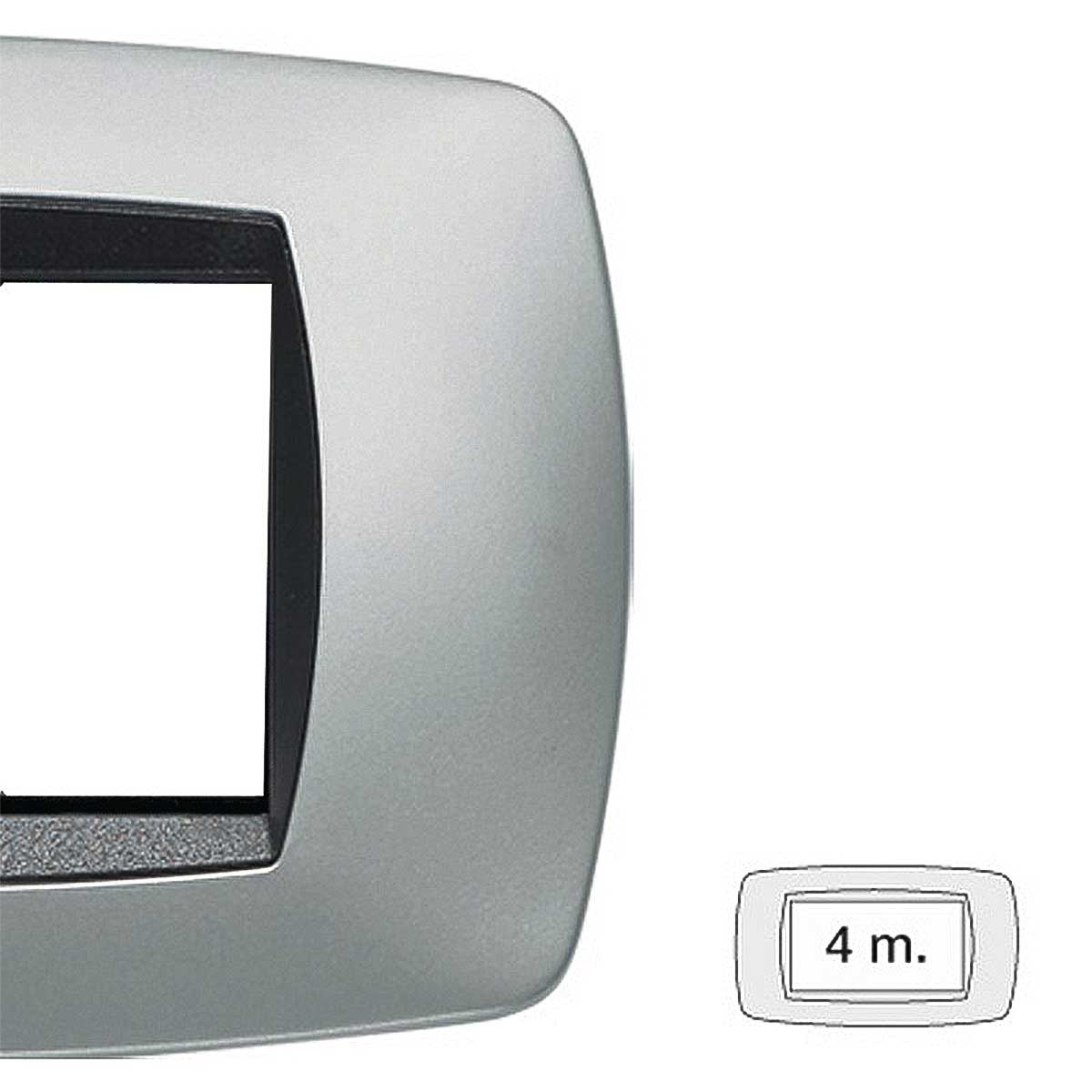 Placca master modo 4 moduli 39TC254