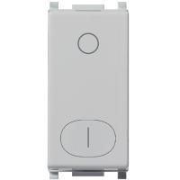 interruttore vimar plana silver 14015.Sl 2 moduli 16ax colore silver