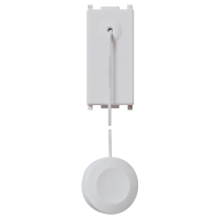 pulsante vimar plana silver 14052.Sl 1 modulo no 10a tirante colore silver