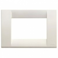 Idea vimar placca classica 3 posti colore bianco 16743.04