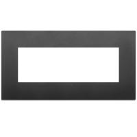 placca classic vimar arkè 19657.71 7 posti colore nero