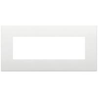 placca classic vimar arkè 19657.74 7 posti colore bianco