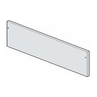 Pannello ABB cieco h300-taglia 4-5 1SL0332A00
