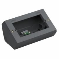 Eikon vimar scatola da tavola 4 moduli colore grigio 20784