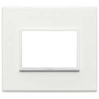 Eikon  evo vimar placca 3 posti colore bianco totale 21653.17