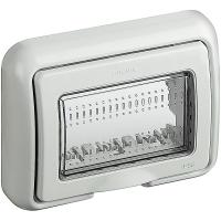 Matix bticino coperchio idrobox ip55 3 posti colore bianco 25603B