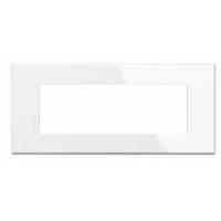 Placca 6 Posti Bticino Axolute Air Bianco HW4806HD