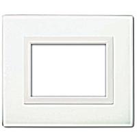 placche vera44 ave 44pv3bl colore bianco lucido