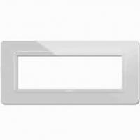 placche ave tecnopolimero 44 44py04bt colore bianco