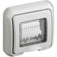 Matix bticino coperchio idrobox ip55 2 posti colore grigio 25602