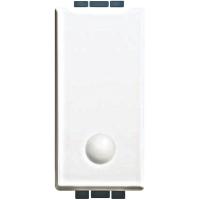 Luna bticino  invertitore  1p 16a  illuminabile C4004L