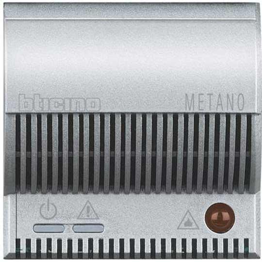 Rilevatore Di Gas Metano Bticino Axolute Chiara HC4511-12