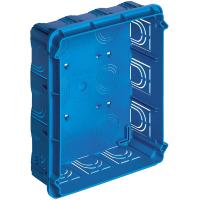 scatola incasso rettangolare vimar eikon-arkè-plana V71321 18/21 posti colore azzurro