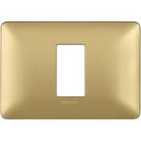 Bticino matix placca modulo 503 1 polo colore gold AM4803M1MGL