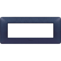 Placca 6 Moduli Blu Mercurio Bticino Matix AM4806TBM