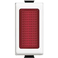 Portalampada Diffusore Rosso Bticino Matix AM5060R