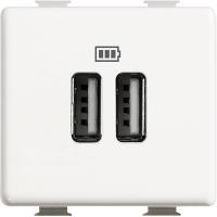 Caricatore USB 2 Prese Bticino Matix AM5285C2