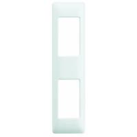 Placca 2 Moduli Per Profilati Bianco Bticino Matix AM4811/2BN